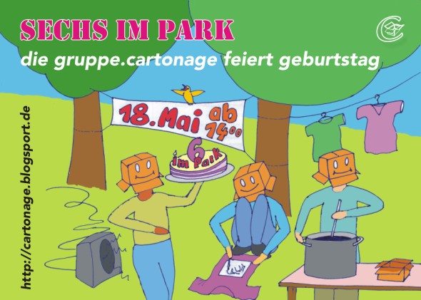 6imPark-der Flyer zur Aktion