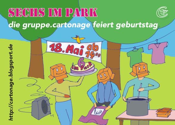 6imPark-der Flyer zur Aktion