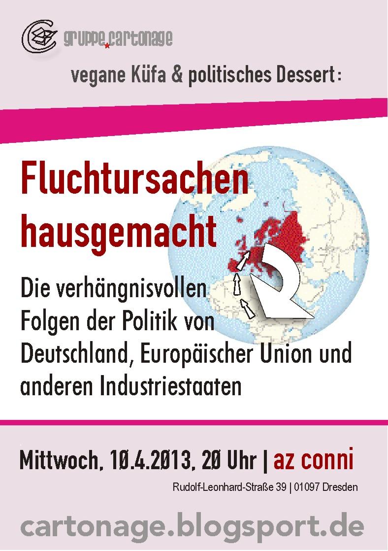 Flyer Küfa 10. April 2013