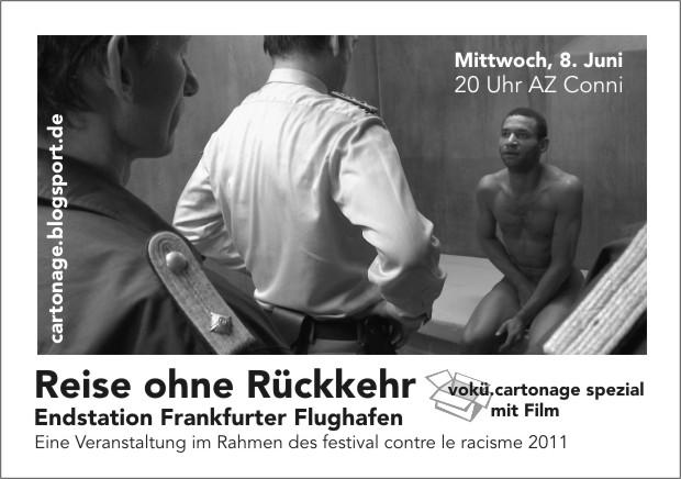 Flyer zur vokü.cartonage am 8. Juni 2011