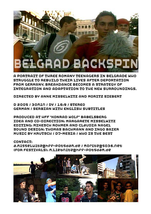 Infos zum Film Belgrad Backspin